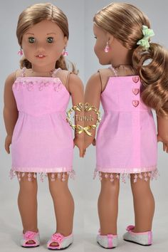 Items similar to Handcrafted 18 inch doll clothes fits AG Dolls OOAK Formal short length Dress ( Bustier dress, Formal stole, & separated over skirt) on Etsy Sewing Doll Clothes, American Doll Clothes, Sewing Dolls, Girl Doll Clothes, Doll Clothes Patterns, Doll Patterns, Clothing Patterns, Girl Dolls, American Dolls