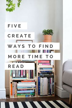Do you enjoy reading but don't have enough time? I have five creative ways that you can find more time to read the books you love. Just click the pin and find out!