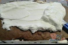 JAMAJKA řezy - fotopostup | NejRecept.cz Icing, Desserts, Food, Tailgate Desserts, Meal, Dessert, Eten, Meals, Deserts
