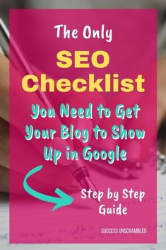 I found this great resource like an SEO checklist that gives me everything I need to ensure that I write SEO friendly articles. It even comes with finding trends and low competition key phrases easily. Heres some more useful tips I have found. Seo Guide, Seo Tips, Seo Optimization, Search Engine Optimization, Free Seo Tools, Seo Help, Seo Marketing, Digital Marketing, Affiliate Marketing