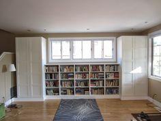 Besta Built-In Family Room Bookshelf and TV Unit - IKEA Hackers ...
