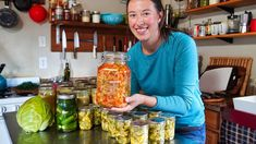 Preserving Food from the Garden | Canning & Fermenting - YouTube Canning 101, Canning Recipes, Fashion And Beauty Tips, Fermented Foods, Preserving Food, Preserves, Harvest, The Creator, Stuffed Peppers