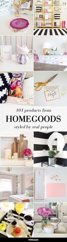 """If you're anything like us, you've aimlessly entered HomeGoods only to walk out with 12 new decor items that you """"just had to have."""" Check out these accessories in the homes of real people"""