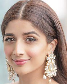 Our Pretty Sammi . Top Celebrities, Hollywood Celebrities, Celebs, Pakistani Girl, Pakistani Actress, Makeup Goals, Jewelry Organization, Diy Jewelry, Jewellery