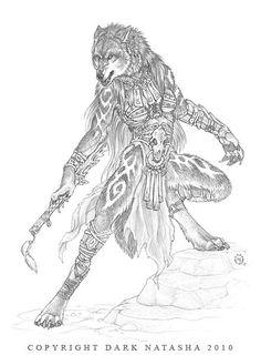 The Art of Dark Natasha - Kherr I (female)