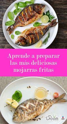 Trout Fillet Recipes, Fish Recipes, Mexican Food Recipes, Dinner Recipes, Cooking Dishes, Cooking Recipes, Healthy Recipes, Fritas Recipe, La Trattoria