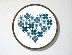 Counted Cross stitch Pattern PDF. Instant por CharlotteAlexander