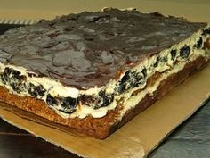Best Cake Recipes, Sweet Recipes, Cookie Recipes, Dessert Recipes, Polish Desserts, Polish Recipes, Torte Cake, Sweet Bakery, Different Cakes