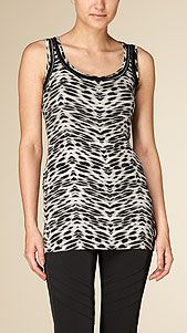 Marccain Top Animal Print | Have this for ages and I stil love to wear it. Wonderful quality and it shows.