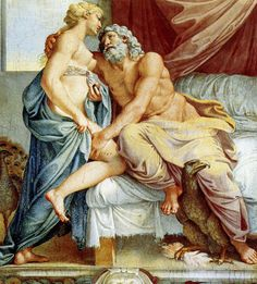 Annibale Carracci - Jupiter et Junon (fresque)