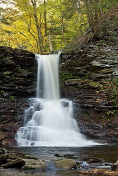 Sheldon Reynolds Falls - Ricketts Glen State Park, Pennsylvania, USA - we were there in 2012 Beautiful Waterfalls, Beautiful Landscapes, Beautiful World, Beautiful Places, Les Cascades, Amazing Nature, The Great Outdoors, Wonders Of The World, State Parks