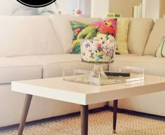 Lack to Mid Century Modern Coffee Table Hack, can't wait to try, mid century tables are so $$$