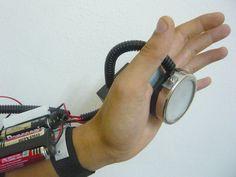 Iron Man inspired Repulsor Beam ---> http://www.instructables.com/id/Iron-Man-Inspired-Repulsor-Beam-Blaster-V10/?ALLSTEPS