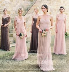 Jenny Yoo Collection Bridal and Bridesmaids Dresses for the simple bride. Bridal Gowns, Wedding Gowns, Wedding Bells, Cocoa, Wedding Photo Inspiration, Bridesmaid Inspiration, Wedding Dress Shopping, Dress Making, Marie