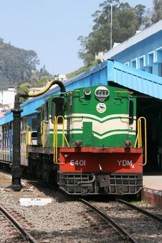 Here comes the Ooty Toy Train