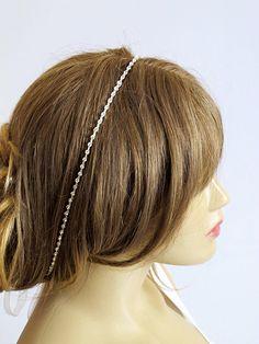 Bridal Rhinestone hairband  Wedding Accessory Wedding by selenayy