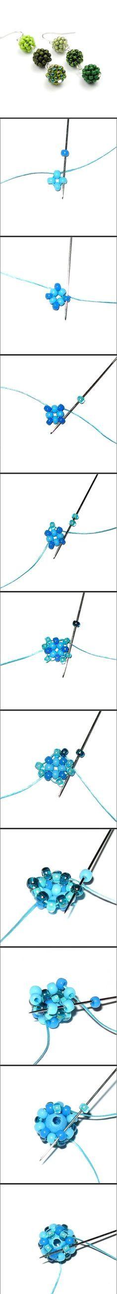 ❦ Tutorial ❦ ∙∙∙ Beaded Bead - http://thecrimsonmoon.wordpress.com/2012/10/14/free-beaded-bead-tutorial-atom-beads/