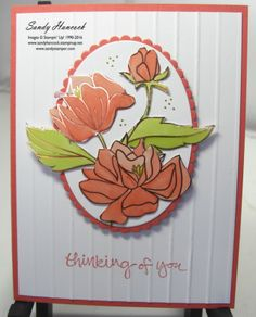 I saw several posts that got my creative juices flowing for this Springtime Foils Specialty Designer Series Paper (DSP). The format is simple! It does take a little time to cut out the flowers and dec Foil Paper, Paper Cards, Flower Cards, Paper Flowers, Homemade Greeting Cards, Stamping Up Cards, Sympathy Cards, Paper Design, Spring Time