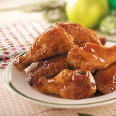 Honey BBQ Wings in the Slow Cooker.