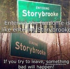 The sign for awesome Storybrooke Maine on Once