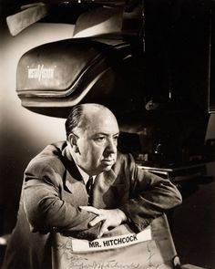 """If I won't be myself, who will?"" - Alfred Hitchcock"