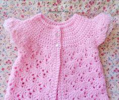 Baby Girl Sweaters, Toddler Sweater, Summer Cap, Summer Evening, Handmade Clothes, Handmade Baby, Crochet Lace, Irish Crochet, Crochet Summer