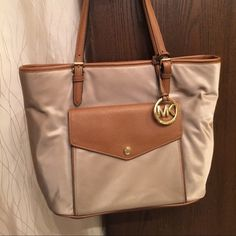 Michael Kors Jet Set New without tags! Wore only once! It EXCELLENT condition! Open to trades. Michael Kors Bags Totes