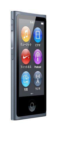Apple iPod nano 16GB スレート MD481J/A <第7世代> アップル http://www.amazon.co.jp/dp/B009A3M560/ref=cm_sw_r_pi_dp_Rqqjvb0NGFEH0