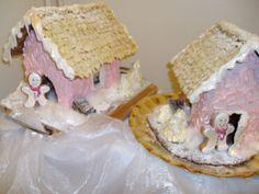 Dr.Oetker - by Teija -- Piparkakkutalo, Joulu, Gingerbread house, Christmas