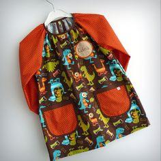bata escolar y set escolar artesanal personalizado 2015 punt a punt-003 Princess Dress Kids, Baby Car Seats, Fashion Backpack, Dresses, Owl, Ideas, Lab Coats, Kids Fashion, Kids Apron