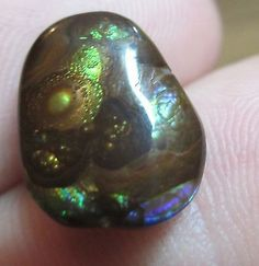All Natural MEXICAN Fire Agate Cab 12x10 rare pattern and inclusions
