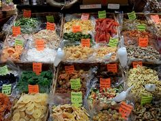 Shop at the Mercato Centrale in Florence- for produce, olive oil, dried fruits and Tuscan specialties.