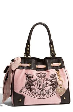 Scotty Daydreamer Velour Tote by Juicy! :]