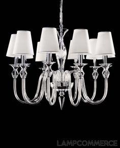 De Majo Tradizione DM2400K10shade hanging lamp Lights & Lamps - LampCommerce