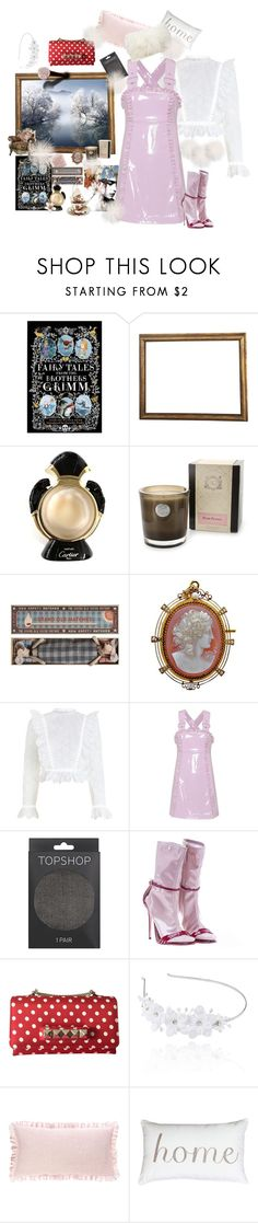 """""""Mother Holle"""" by juliabachmann ❤ liked on Polyvore featuring Cartier, Aquiesse, Maileg, Zimmermann, AlexaChung, Topshop, Gucci, Valentino, Linni Lavrova and Pine Cone Hill"""