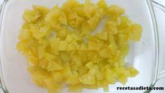 ÑOQUIS DE PATATA Y ESPINACA - Recetas a dieta Pineapple, Fruit, Food, Gnocchi Recipes, Homemade Recipe, Healthy Recipes, Eating Clean, Clean Eating Meals, Noodles