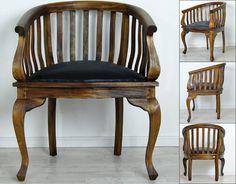Batavia barrel chair, teak Bucket Chairs, Barrel Chair, Tub Chair, Teak, Dining Chairs, House Ideas, Furniture, Home Decor, Decoration Home
