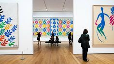 """""""Henri Matisse: The Cut-Outs,"""" at the Museum of Modern Art, presents about 100 painted-paper works, produced during a difficult era for the artist."""