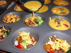 mini frittatas.. (freezable) hearty quick breakfast on hand