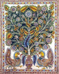 tree of life   art | Tree of Life: Kalamkari Painting on Cotton