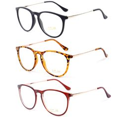 Retro Fashion 2014 Korean Style Men Eyewear Women Round Clear Lens Frame Metal Legs High Quality Unisex Plain Glasses Eyeglasses $5.99