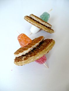 Dutch stroopwafel treat.