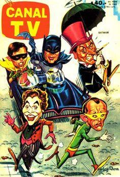 Batman - TV guide cover.