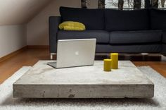 coffee table - concrete by German Jung und Grau Betonmöbel