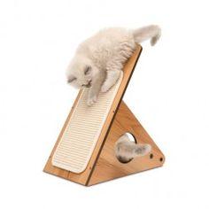 Mueble Rascador Para Gatos Vesper Playstation Madera