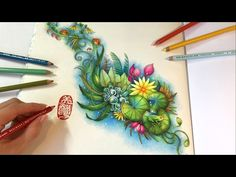 The Magic Pond: MAGICAL JUNGLE Video tutorial by Chris Cheng on you tube or my board