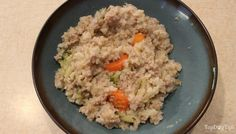 Recipe chicken rice and vegetable homemade dog food top dog tips this homemade dog food recipe uses ground turkey brown rice rosemary vegetables and other healthy and delicious ingredients forumfinder Choice Image