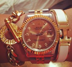 givenchy rolex and hermes at the same time? yes pleasseee