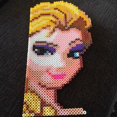 Elsa Frozen hama beads by queenie191208