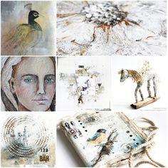 Some of my work in 2015. Stephanie Schütze http://scrapmanufaktur.blogspot.com